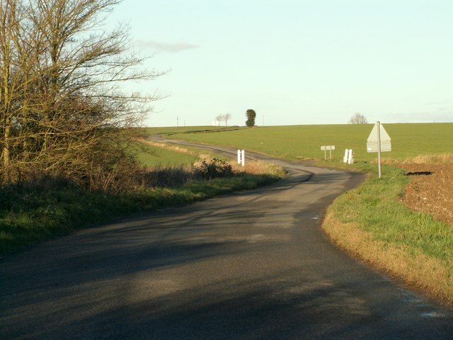 Road to Wetherup Street from Mickfield