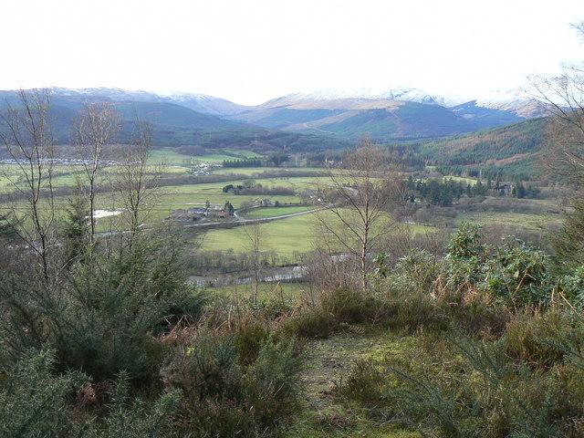 View from Kilmun Arboretum Track