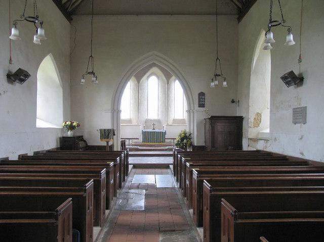 St Andrew, Little Snoring, Norfolk - East end