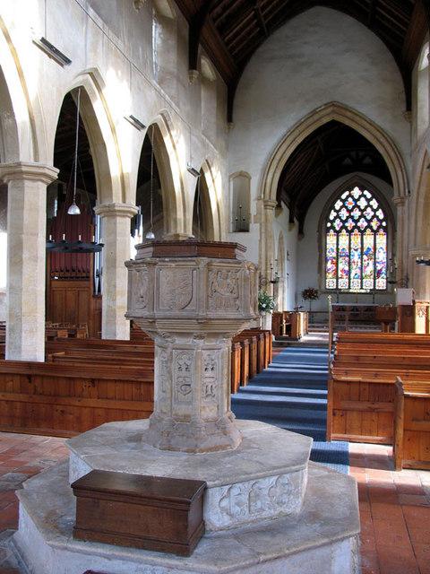 St Martin, Hindringham, Norfolk - East end