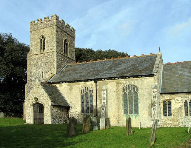 All Saints, Bale, Norfolk