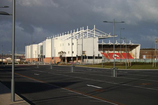 Blackpool football ground