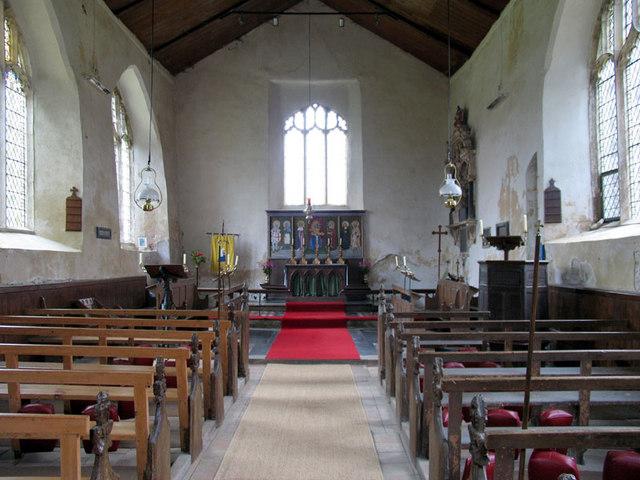 All Saints, East Barsham, Norfolk - East end