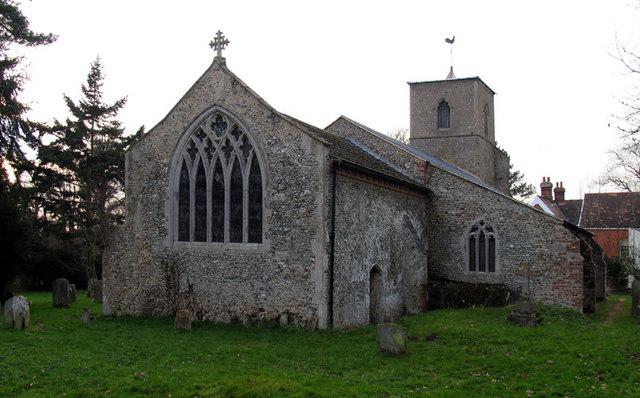 All Saints, Stibbard, Norfolk