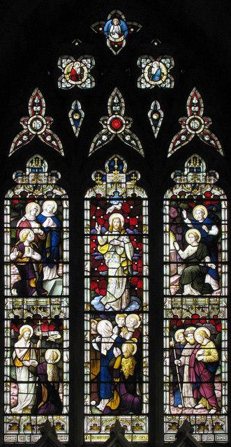 Christ Church, Fulmodeston, Norfolk - East window