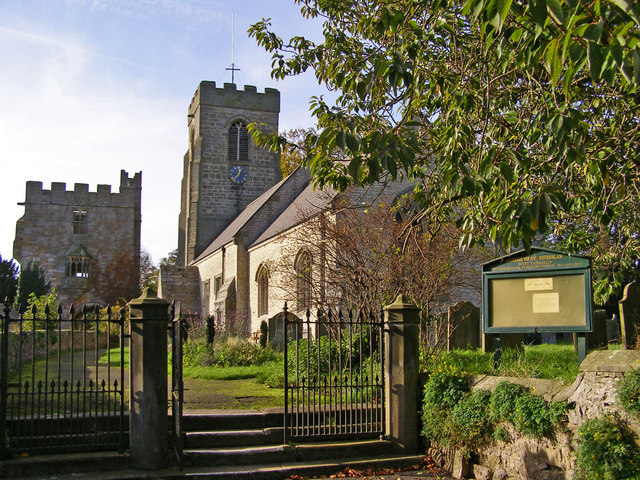 St Nicholas Church, West Tanfield