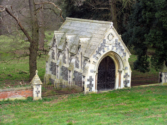 St Withburga, Holkham, Norfolk - Mausoleum