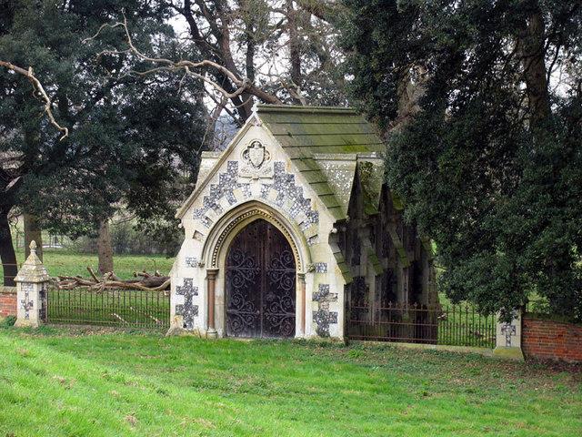 St Withburga, Holkham, Norfolk - Mausoleum