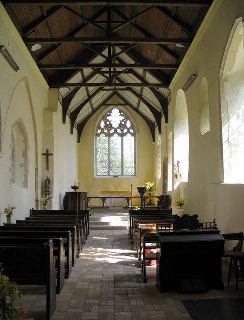 St Nicholas, Shereford, Norfolk - East end