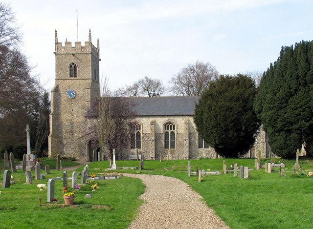 St Mary, Whissonsett, Norfolk