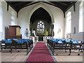 TF9123 : St Mary, Whissonsett, Norfolk - East end by John Salmon