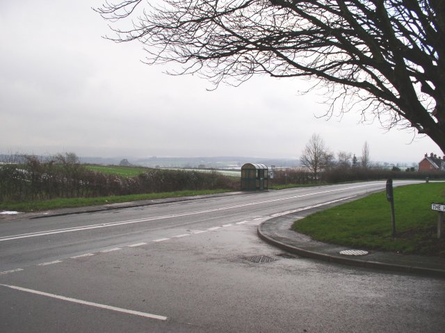 """View over the A272 at 'The Harrows"""""""