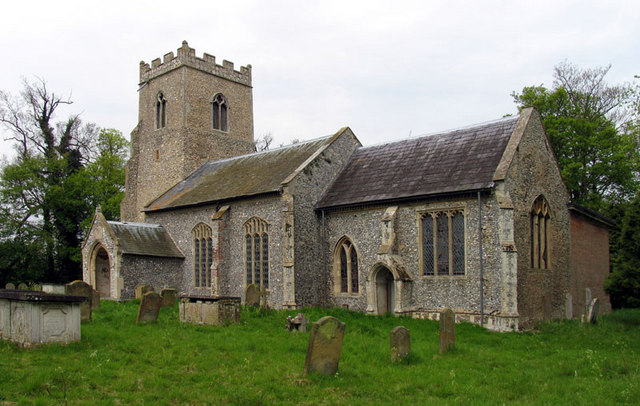 St Mary Magdalene, Warham, Norfolk