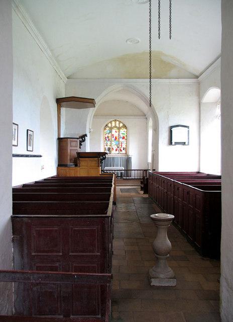 St Mary Magdalene, Warham, Norfolk - East end