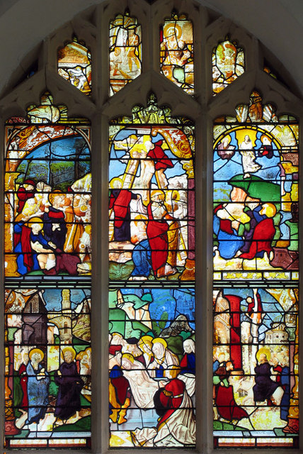 St Mary Magdalene, Warham, Norfolk - East window