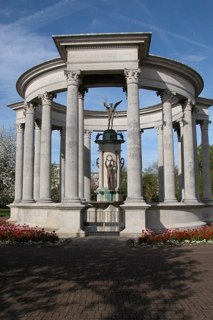 The Welsh National War Memorial, Cathays Park, Cardiff