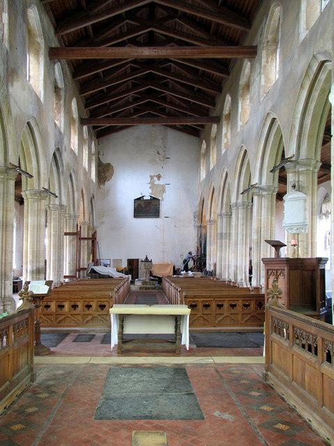 All Saints, Wighton, Norfolk - West end
