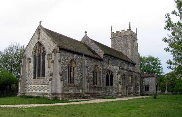 All Saints, Burnham Thorpe, Norfolk