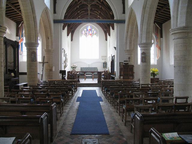All Saints, Burnham Thorpe, Norfolk - East end