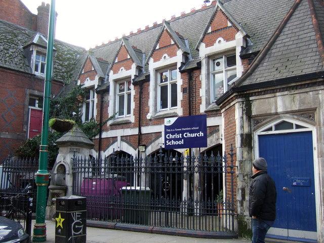 The school in Brick Lane