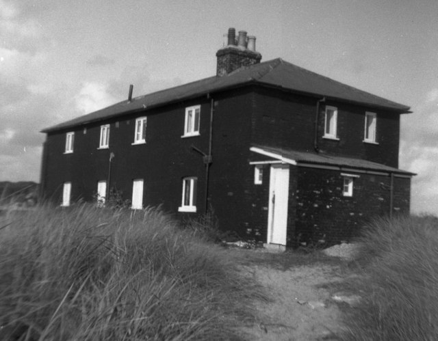 The Black House, Mudeford Spit, Hampshire