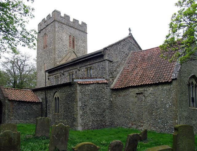 All Saints, Cockthorpe, Norfolk