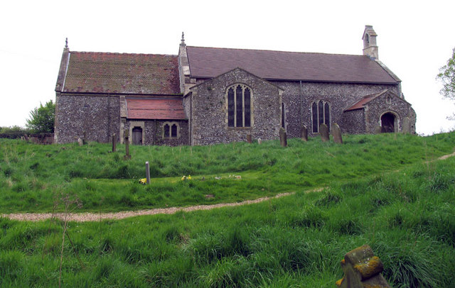All Saints, Warham, Norfolk