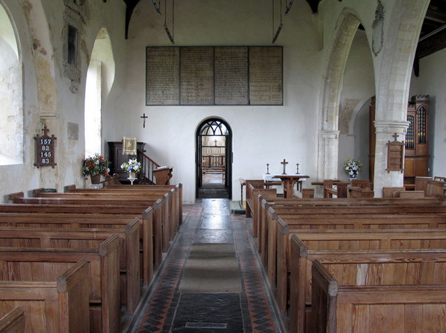 St Clement, Burnham Overy Town, Norfolk - East end