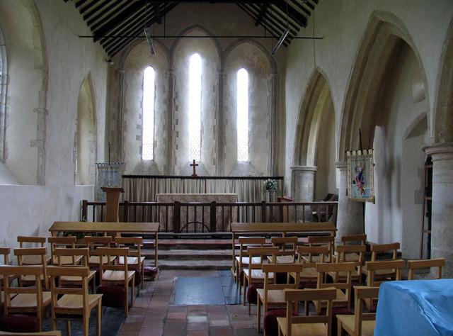 St Clement, Burnham Overy Town, Norfolk - Chancel