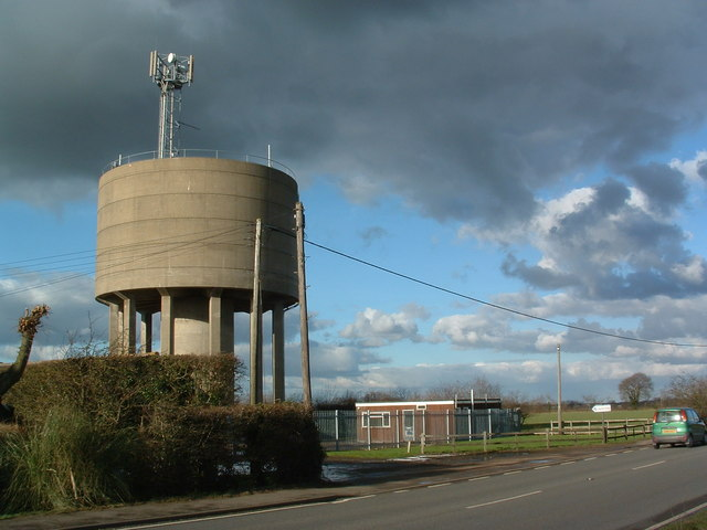 One Of Two Water Towers