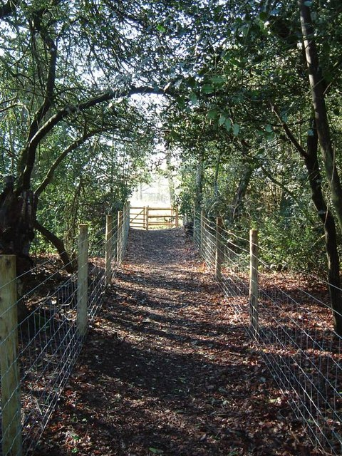 Footpath near Wrotham Park