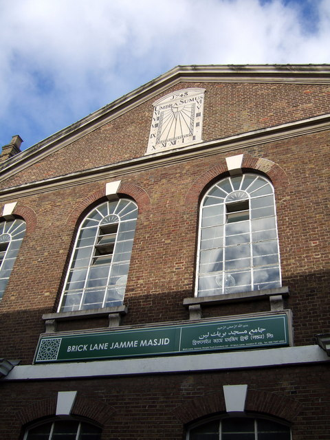 The Great London Mosque in Brick Lane