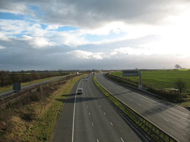 A1[M] between junctions 49 & 48