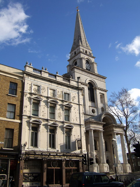 The Ten Bells and Christ Church