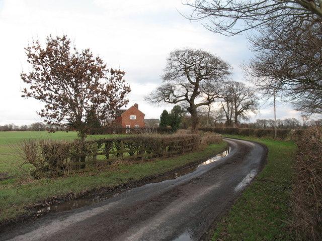 Lane to Clott House Farm