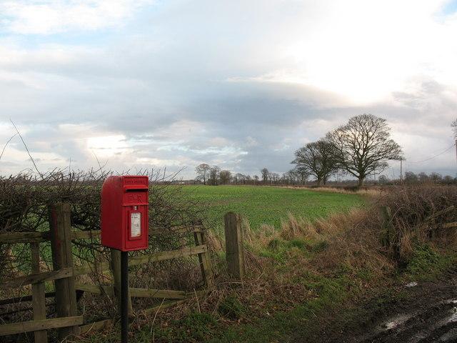 Postbox, Ellenthorpe Lane