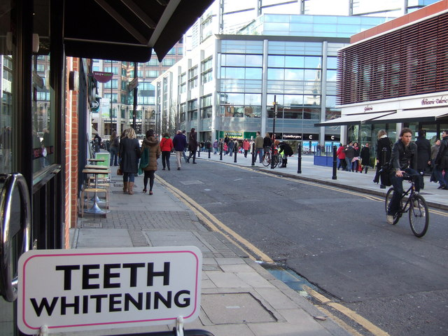 Changing times in Brushfield Street