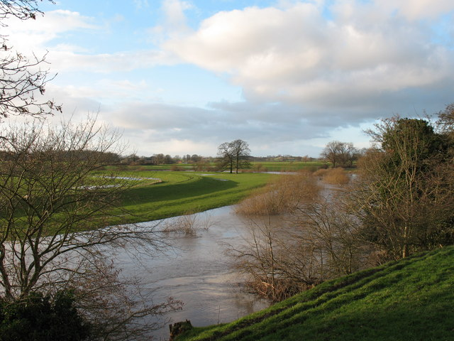 The Swale at Fawdington