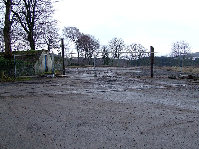 Demolished Sutherland Arms Hotel Site