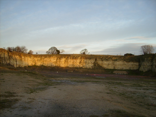 Worked out quarry north of Ruston