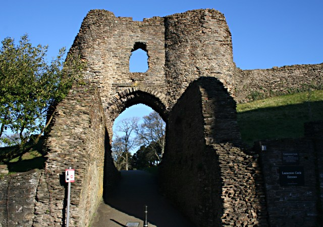 Launceston Castle Gate