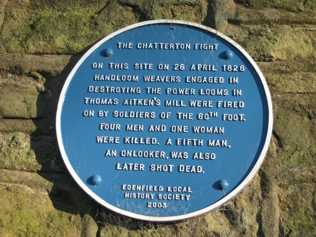 The Chatterton Riots Plaque