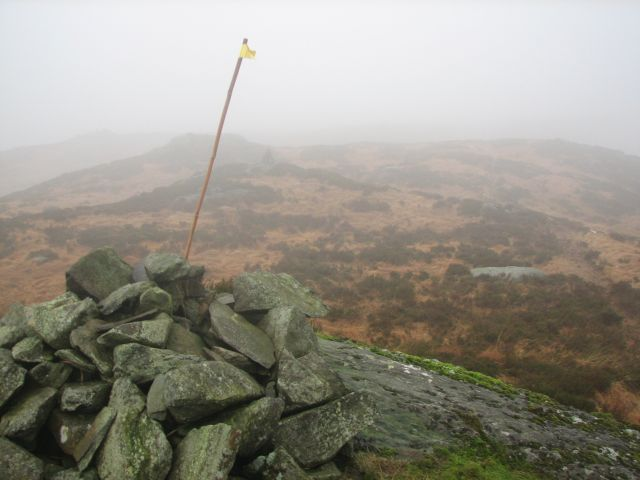 Cairn and marker
