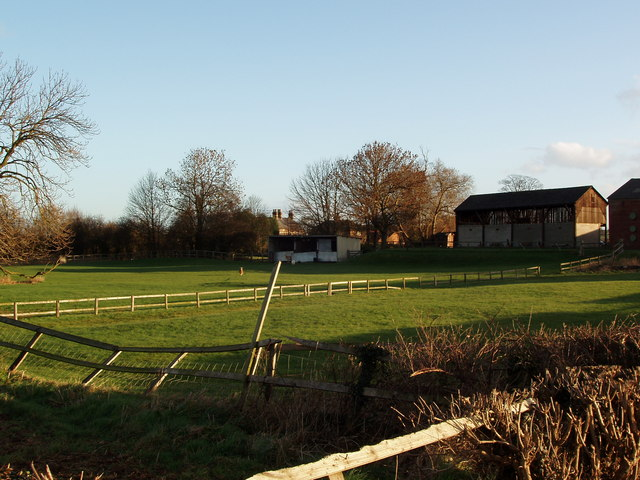 Paddock and Farm Buildings, Beck Farm, Catterton