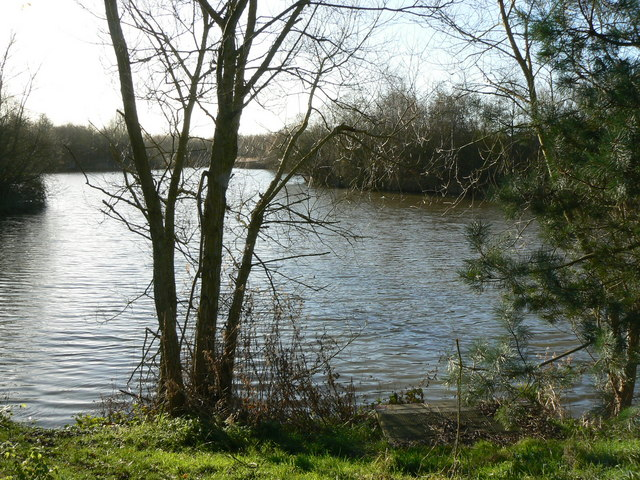 Peatmoor lagoon, West Swindon