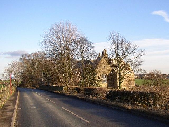 The former vicarage, Freakfield lane, Hartshead
