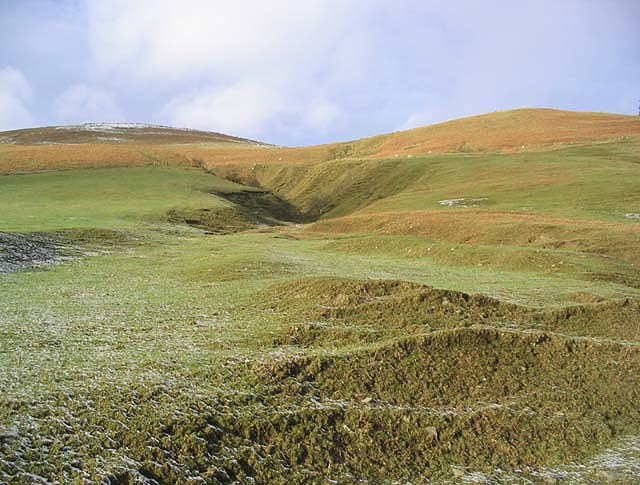 Hillside at Cat Cleuch