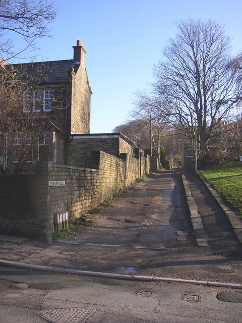 Foot of Bowling Alley, Rastrick