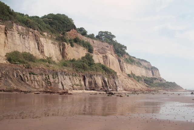 The cliffs from Luccombe chine to Yellow Ledge