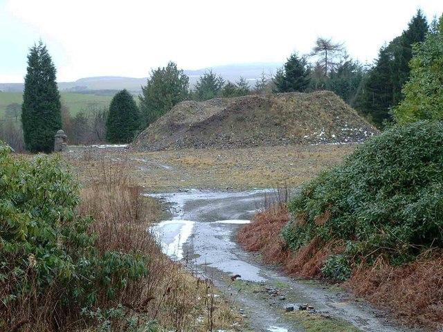 Site of former Ochil Hills Hospital